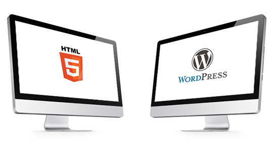 WordPress-Themes-Vs-HTML-Templates